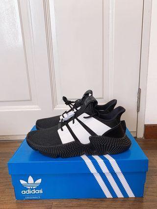 🚚 Adidas Prophere Mens Sneaker Black White UK8 US8.5 US9 <READY STOCK>