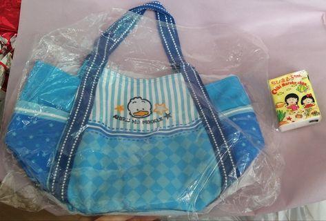 Pekkle 鴨 全新正版 Sanrio 手挽袋 Bag