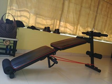 Gym Sit Up Foldable Bench