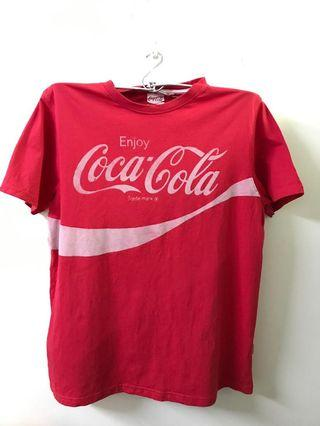 Coke (Grey) Round Neck T-shirt #MidValley