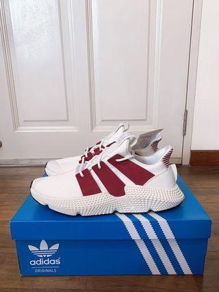 🚚 Adidas Prophere Mens Sneaker White Red UK8 UK9 US8.5 US9 <READY STOCK> #MRTJurongEast