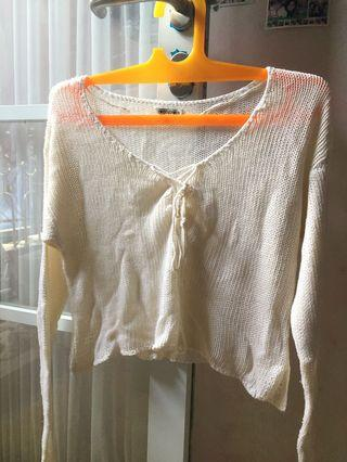 SALE Crop Sweater Colorbox