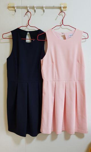 Bundle sale L size dresses - 8pcs for $40 (no nego, no measurement will be provided) Sale ends on 2 June