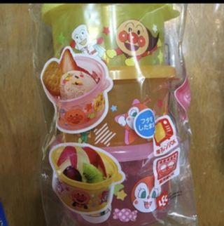Anpanman snacks box 麵包超人食物盒
