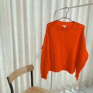 🚚 H&M 微高領毛衣
