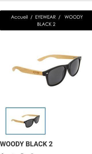 太陽眼鏡WOODY BLACK 2