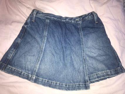 🚚 levis denim skorts skirt shorts