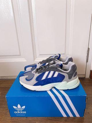 🚚 Adidas Yung 1 Sesame Blue Mens Sneakers UK8 UK9 US8.5 US9 <Ready Stock_ Raya Promo> #MRTJurongEast>