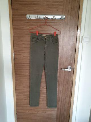 Clearance - Army Green Jeans
