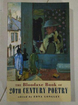 🚚 The Bloodaxe Book of 20th Century Poetry
