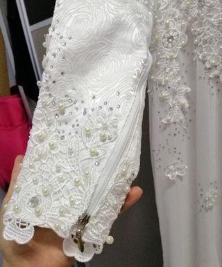 Dress nikah (saiz 42)