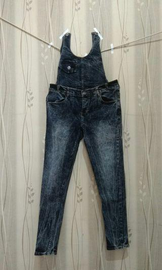 #mauthr Overall Jeans Bisa Dilepas