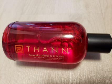 THANN Aromatic Wood Bubble Bath