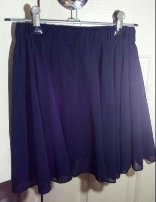 Mini Skirt 深藍短裙 半截裙 迷你裙