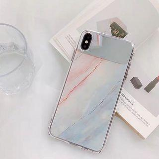 Brand New in Bag IPhone XR marble mirror case