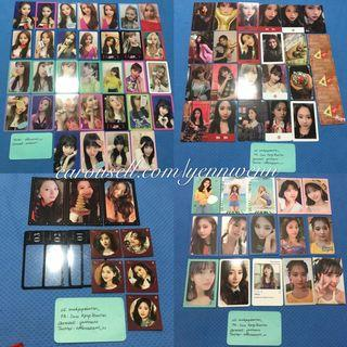 [PRICE REDUCED/CLEARANCE] Twice Various Era Official Photocard