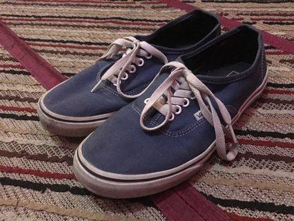 Sepatu Vans Authentic Biru