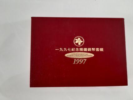 Hong Kong 1997 Commemorative Proof Coin Collection
