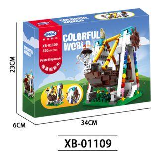 Xingbao 01108 Lego-compatible Mini Pirate Ship