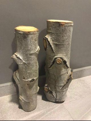 Real Birch wood logs(real wood from USA 🇺🇸)