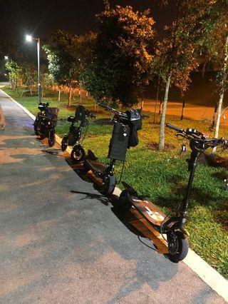 Escooter repairs