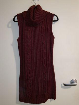 MRP turtle neck dress