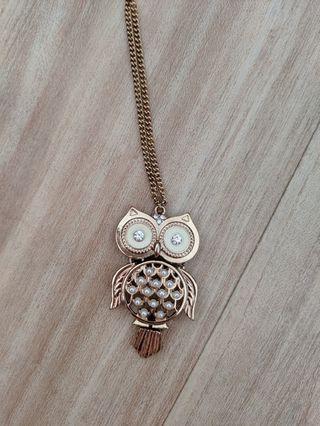 Owl Necklacs