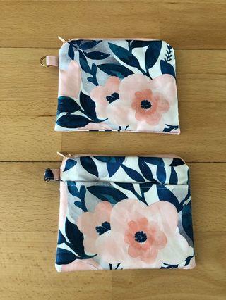 Jujube Whimsical Watercolour custom coin purse