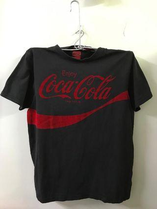 Coke (Dark Grey) Round Neck T-shirt  #MidValley