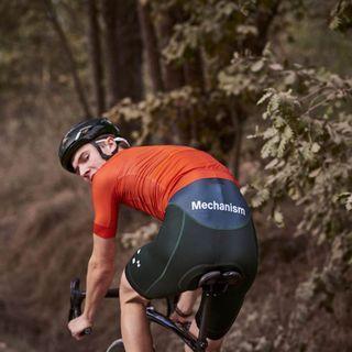 🚚 Mint PNS Pas Normal Studios Mechanism Navy Road Cycling Jersey
