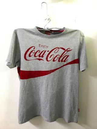 Coke (Light Grey) Round Neck T-shirt #MidValley