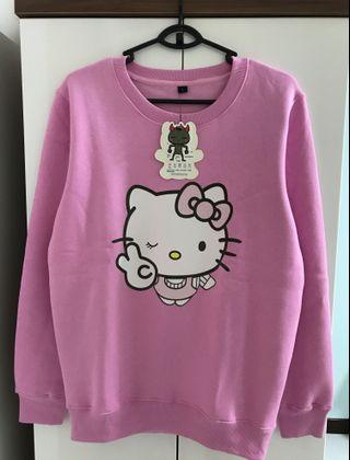 BNWT and BNIB Sweet Hello Kitty Fleeced Pullover Sweater