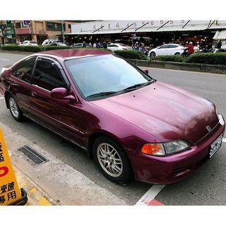 自售  喜美雙門K6 ,車況正常,內裝漂亮,原廠無改裝。經典省油EJ1