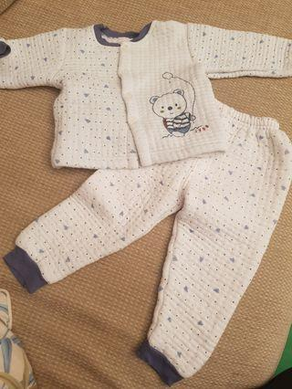 🚚 Baby Pajamas for Winter (6-12 months)