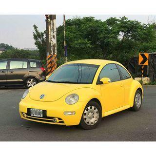 自售 2004 福斯 金龜車 The beetle 1.6 小黃龜 無待修