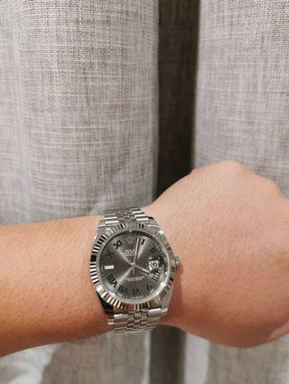 [NOT FOR SALE] Rolex Datejust 41 Wimbledon Oyster M126334-0022
