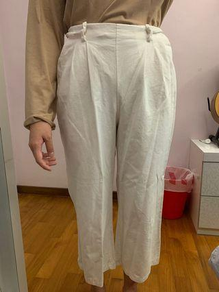 Long White Pants