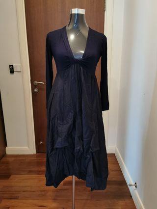 Tres Chic dress navy blue size 38 S/M