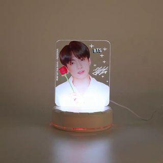 BTS 小夜燈 (USB頭) 代購
