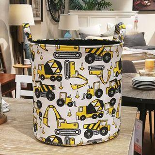 Construction Truck Toy Storage Laundry Basket