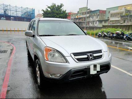 2004年本田CRV 跑16萬,實車實價 車子在五股 售138000 請洽張艾瑪0968012735謝謝🙏