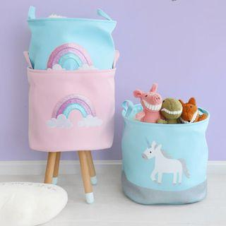 Unicorn Toy Storage Basket / Laundry Basket