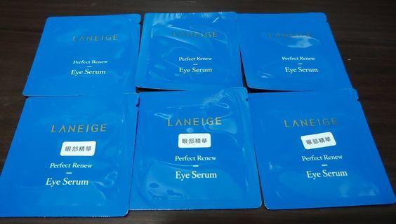 (包郵) Laneige Eye Sample 6包