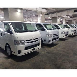 *Brand New * Van Rental 5 Door Tayota Hiace