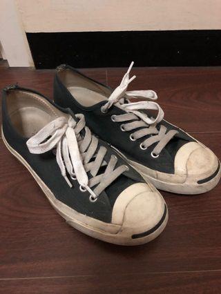 Converse開口笑帆布鞋