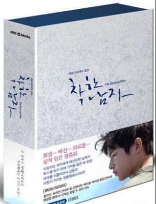 韓劇善良的男人韓版DVD, 宋仲基,文彩元主演