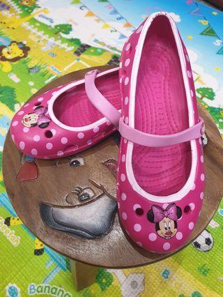 Crocs米妮瑪莉珍洞洞鞋(C12)