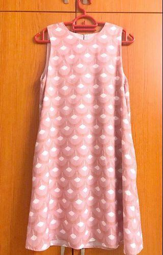 🚚 Playdress Catniss Fan Printed Dress (Pink)