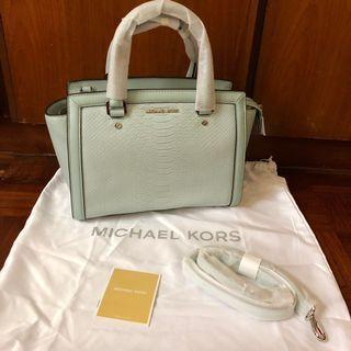 Authentic Michael Kors Handbag (Selma Frame Out Satchel)