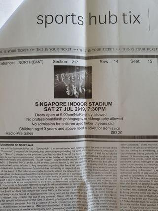 🚚 Concert Ticket